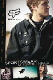 CATALOGUE SPORT SWEAT FOX AUTOMNE - HIVER 2011